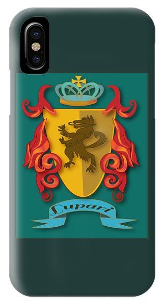Lupari Family Crest IPhone Case