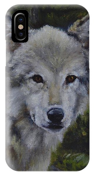 Lupine Gaze IPhone Case