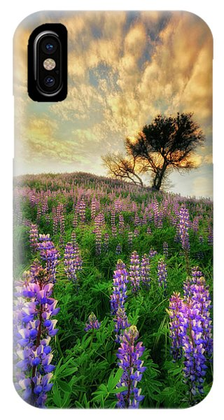 Lupine On Lupine IPhone Case
