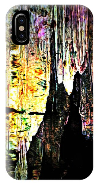 Luray Cavern Abstract 2 IPhone Case
