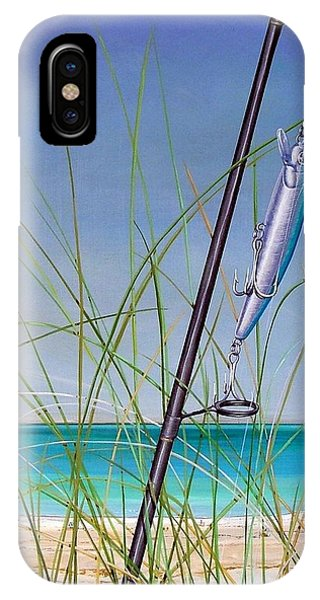 Lure Of The Island IPhone Case