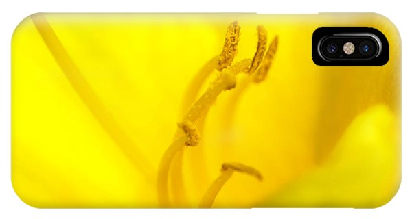 Pistil iPhone Case - Luscious Yellow by Marvin Spates