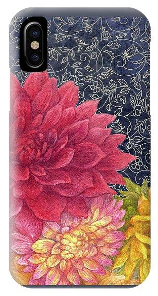 Lush Fall Botanical IPhone Case