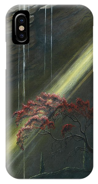 IPhone Case featuring the painting Luthien Finds Beren by Kip Rasmussen