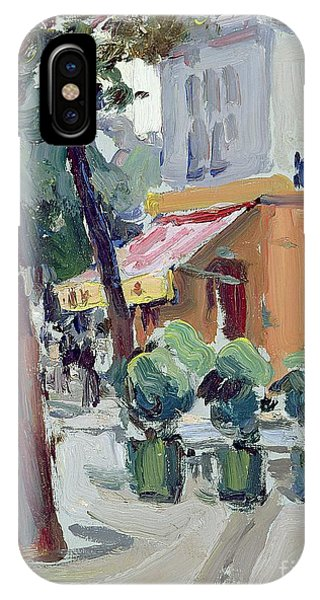 Luxembourg Gardens IPhone Case