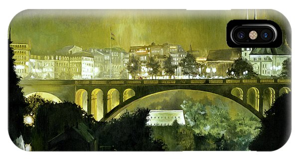 Luxembourg IPhone Case