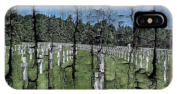 Luxembourg Wwii Memorial Cemetery IPhone Case