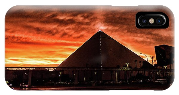 IPhone Case featuring the photograph Luxor Las Vegas by Michael Rogers