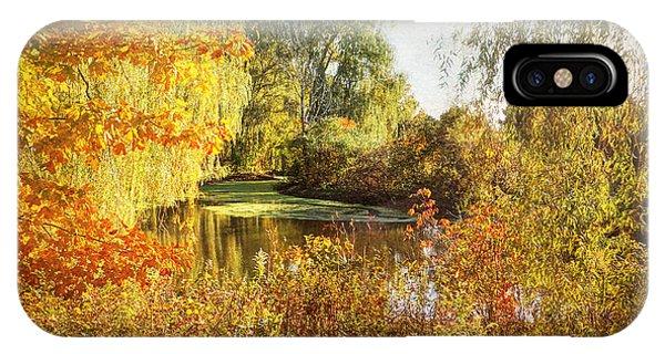 Luxurious Autumn IPhone Case