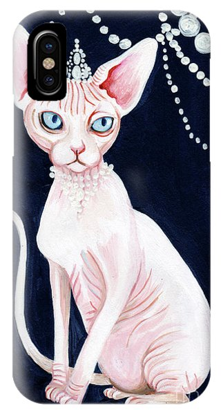 Luxurious Sphynx IPhone Case