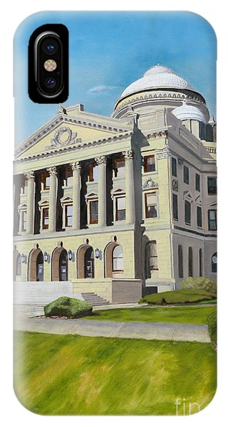 Courthouse iPhone Case - Luzerne County Courthouse by Austin Burke
