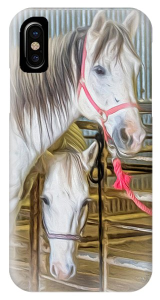 Lvha_ Digital Art Painting #1 IPhone Case