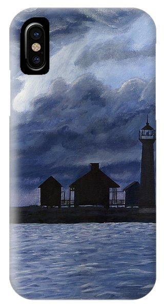 Lydia Ann Lighthouse IPhone Case