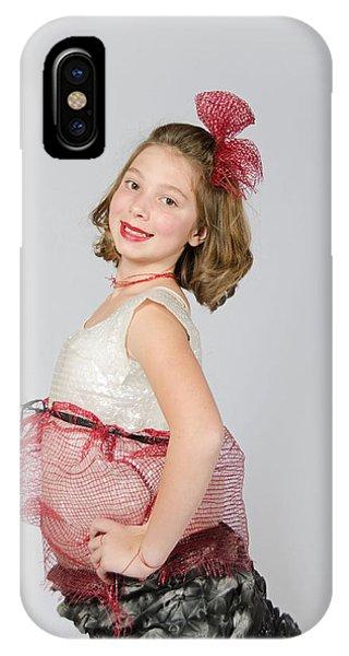Lydia In Wraps IPhone Case