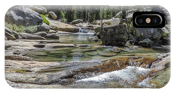 Lyell Fork Tuolomne River Yosemite National Park IPhone Case