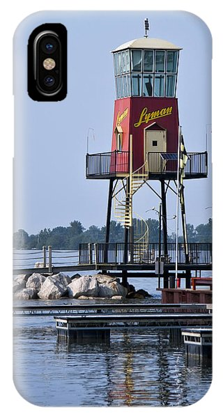 Lyman Harbor Lighthouse IPhone Case