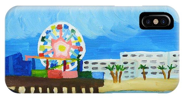 Lyndas Ferris Wheel IPhone Case