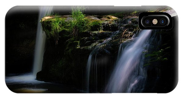Lynn Mill Waterfalls IPhone Case