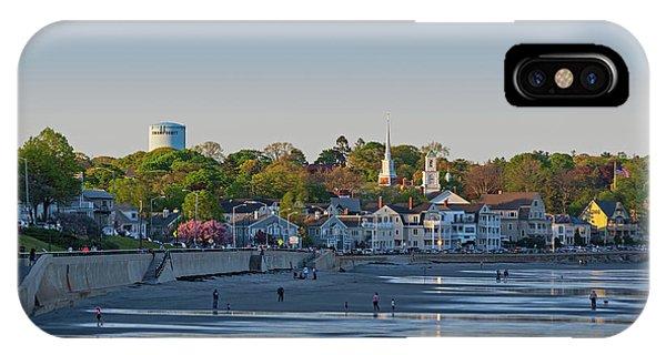 Lynn Waterfront Swampscott Water Tower Lynn Ma IPhone Case