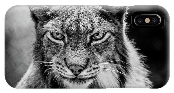 Lynx Portet IPhone Case