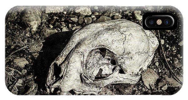 Lynx Skull IPhone Case