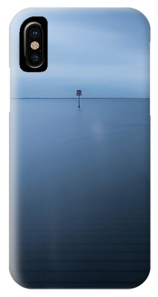 Long Exposure iPhone Case - Lytham Jetty  by Mark Mc neill