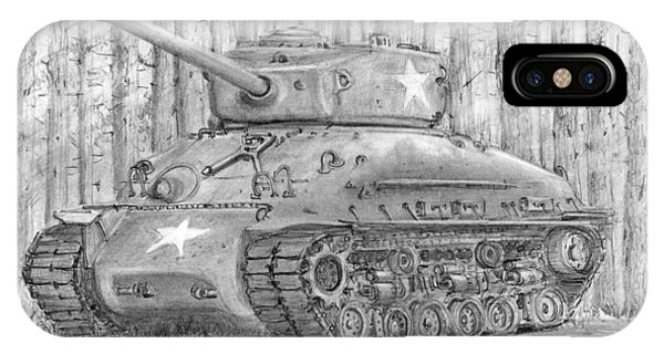 M-4 Sherman Tank IPhone Case