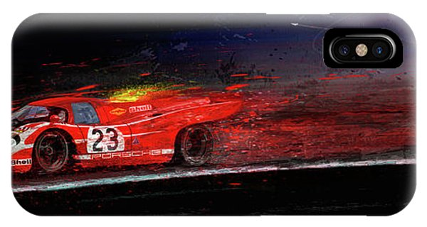 M Mcfly Racing IPhone Case