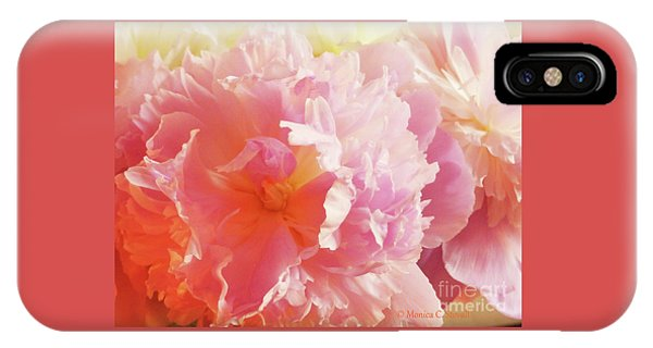 M Shades Of Pink Flowers Collection No. P74 IPhone Case