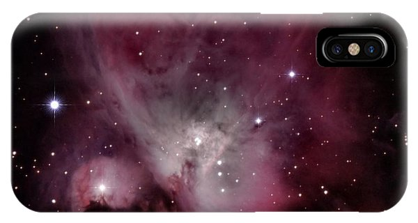 M42 Orion Nebula IPhone Case
