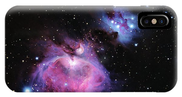M42--the Great Nebula In Orion IPhone Case