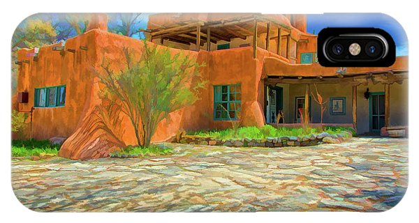 Mabel Dodge Luhan House As Oil IPhone Case