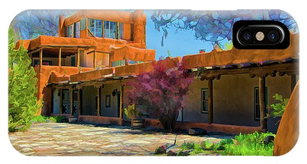 Mabel's Courtyard As Oil IPhone Case