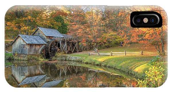 Mabry Mill. Blue Ridge Parkway IPhone Case