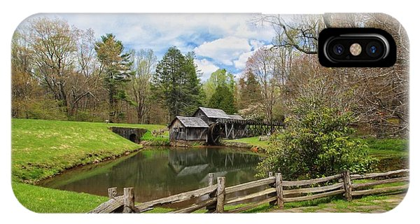 Mabry Mill In The Spring IPhone Case