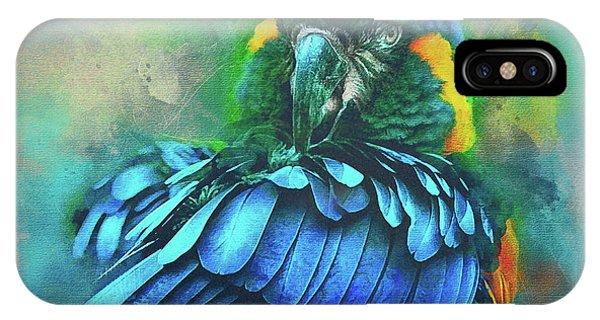 Macaw Magic IPhone Case