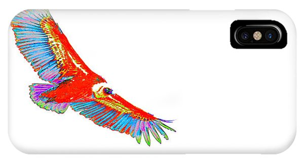 Macaw Vulture IPhone Case