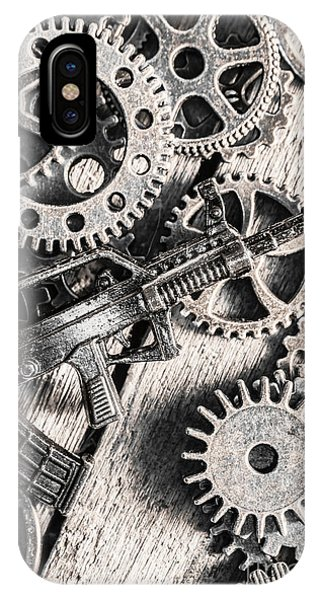 Technical iPhone Case - Machines Of Military Precision  by Jorgo Photography - Wall Art Gallery