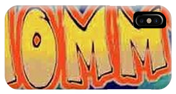Macho Mommy Logo IPhone Case