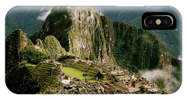 Machu Picchu At Sunrise IPhone Case
