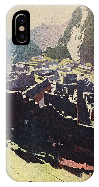 Machu Picchu Morning IPhone Case