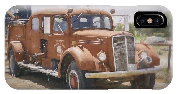 Mack Fire Truck  IPhone Case