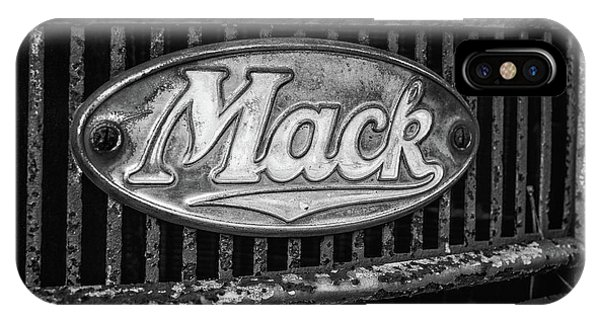 Mack Truck Emblem IPhone Case