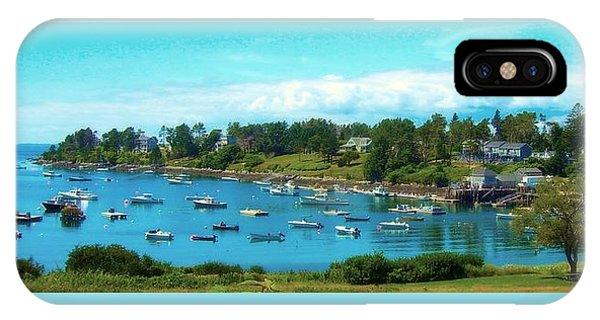 Mackerel Cove On Bailey Island IPhone Case