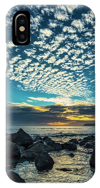 IPhone Case featuring the photograph Mackerel Sky by Dan McGeorge