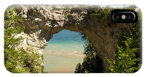 Mackinac Island Arch IPhone Case