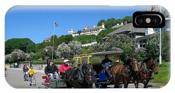 Mackinac Island At Lilac Time  IPhone Case