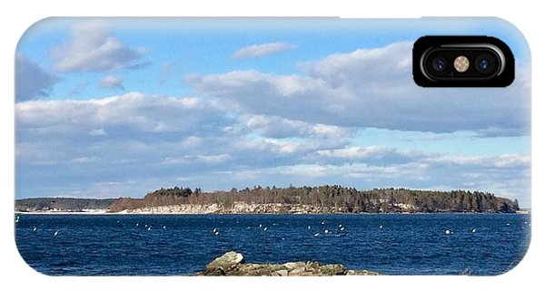Mackworth Island Falmouth Maine IPhone Case
