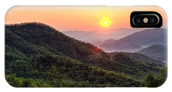 Macon County North Carolina Mountains IPhone Case