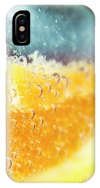 Martini iPhone Case - Macro Detail On A Club Orange Cocktail by Jorgo Photography - Wall Art Gallery